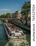 paris  france   july 08  2017.... | Shutterstock . vector #765127024