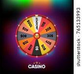 casino gambling banner and... | Shutterstock .eps vector #765133993