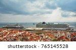 lisbon  portugal   november 1 ... | Shutterstock . vector #765145528