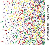 vector confetti background... | Shutterstock .eps vector #765149926