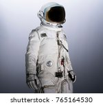 astronaut isolated with... | Shutterstock . vector #765164530