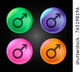 male gender symbol variant...   Shutterstock .eps vector #765198196