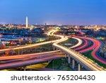 Washington  D.c. Skyline With...