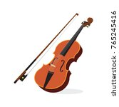 Violin. Vector Illustration Of...
