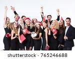 group of people having fun.... | Shutterstock . vector #765246688