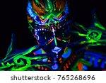 close up portrait of an... | Shutterstock . vector #765268696