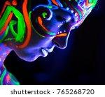 close up portrait of an... | Shutterstock . vector #765268720