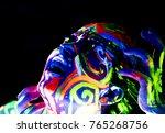 close up portrait of an... | Shutterstock . vector #765268756