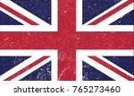 british flag. uk illustration.... | Shutterstock .eps vector #765273460
