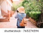 traveler and tourist asian... | Shutterstock . vector #765274594