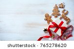 christmas holidays ornament... | Shutterstock . vector #765278620