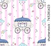 seamless pattern with fairy...   Shutterstock .eps vector #765281623