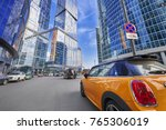 moscow  aug  22 2017  view on... | Shutterstock . vector #765306019