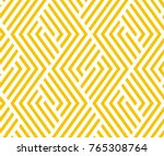 abstract geometric pattern with ... | Shutterstock .eps vector #765308764