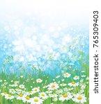 vector  nature  background ... | Shutterstock .eps vector #765309403