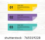 banner paper tag background for ... | Shutterstock .eps vector #765319228
