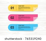 banner paper tag background for ... | Shutterstock .eps vector #765319240