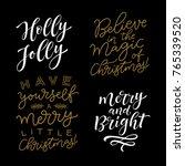 vector set of holidays... | Shutterstock .eps vector #765339520
