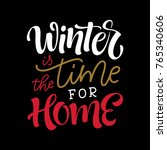vector holidays lettering....   Shutterstock .eps vector #765340606