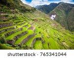 batad rice terraces  unesco... | Shutterstock . vector #765341044