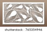 decorative panel for laser... | Shutterstock .eps vector #765354946