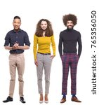 group of people | Shutterstock . vector #765356050