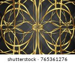 golden and dark vector... | Shutterstock .eps vector #765361276