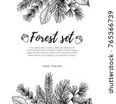 hand drawn vector illustration  ... | Shutterstock .eps vector #765366739