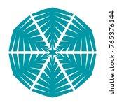 snowflake. element for winter... | Shutterstock .eps vector #765376144