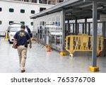 juneau  alaska  usa   july 26th ... | Shutterstock . vector #765376708