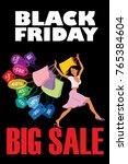 black friday. big sale.... | Shutterstock . vector #765384604