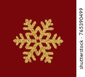 golden glitter christmas... | Shutterstock .eps vector #765390499