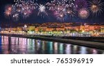 Night View Of Nice With...