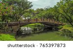 park view garden view entrance... | Shutterstock . vector #765397873