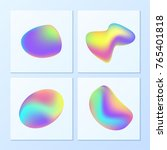 creative   vibrant gradients.... | Shutterstock .eps vector #765401818