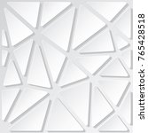 polygonal background template... | Shutterstock .eps vector #765428518