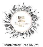vector illustrations   winter... | Shutterstock .eps vector #765439294