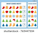 set of tasks for the... | Shutterstock .eps vector #765447334