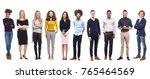 group of people | Shutterstock . vector #765464569