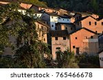 the yangchan tulou  the chinese ... | Shutterstock . vector #765466678