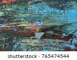 the bottom fishing boats.... | Shutterstock . vector #765474544