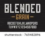 blended grain vector vintage... | Shutterstock .eps vector #765482896