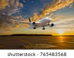Passenger Aircraft Takes Off...