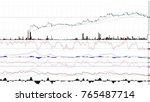 uptrend. financial  rising ...   Shutterstock . vector #765487714