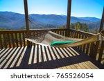 cabin vacation. cabin getaway.... | Shutterstock . vector #765526054