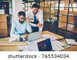professional male engineers... | Shutterstock . vector #765534034
