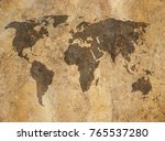 old map background | Shutterstock . vector #765537280