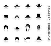 Icons Set Hats