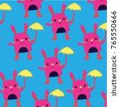 bunny vector pattern   Shutterstock .eps vector #765550666
