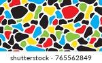rock camouflage cow animal skin ...   Shutterstock .eps vector #765562849